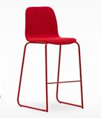 Tiller slim stool sled
