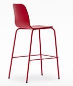 tiller slim stool 4-leg