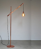 copper standard lamp