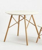 sticks and stone table