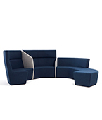 paramount high back sofa system