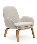 era lounge chair low timber