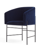covent chair black