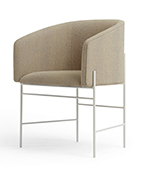 covent chair white