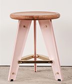 crease low stool