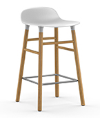 form barstool oak