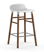form barstool walnut