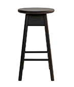 Olive Stool Rounded