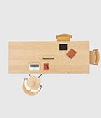 Underline Meeting Table – Veneer