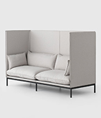 Carousel High Back Sofa