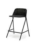 Kakī Stool with Backrest