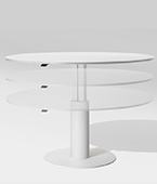 follow height adjustable table