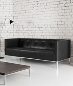 Connected low back Sofas