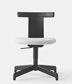 Jiro swivel upholstered chair