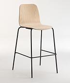 Tiller slim stool 4leg