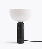 Kizu Table Lamp – Black Marble, Large