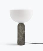 Kizu Table Lamp – Gris du Marais Marble, Large