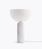 Kizu Table Lamp – White Marble, Large