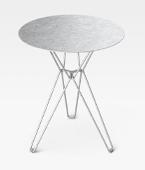 Tio Dining Table Galvanized
