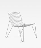 Tio Easy Chair Galvanized
