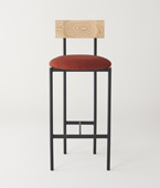 Volta High Chair Upholstered