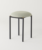 Volta Low Stool upholstered