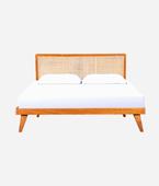 VINNY RATTAN BED