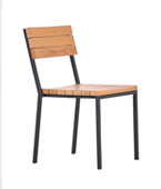 SUZY OUTDOOR STACKABLE DINING CHAIR