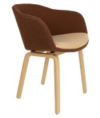 Tubby Timber Chair