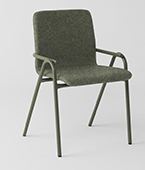 hurdle chair upholstered